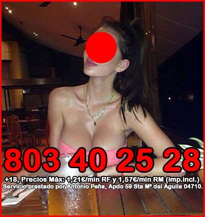travestis por teléfono