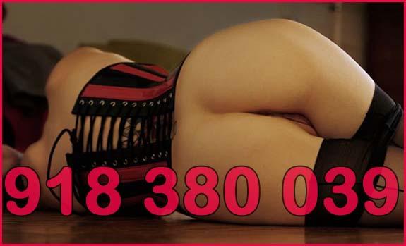 número de teléfono erótico aficionado